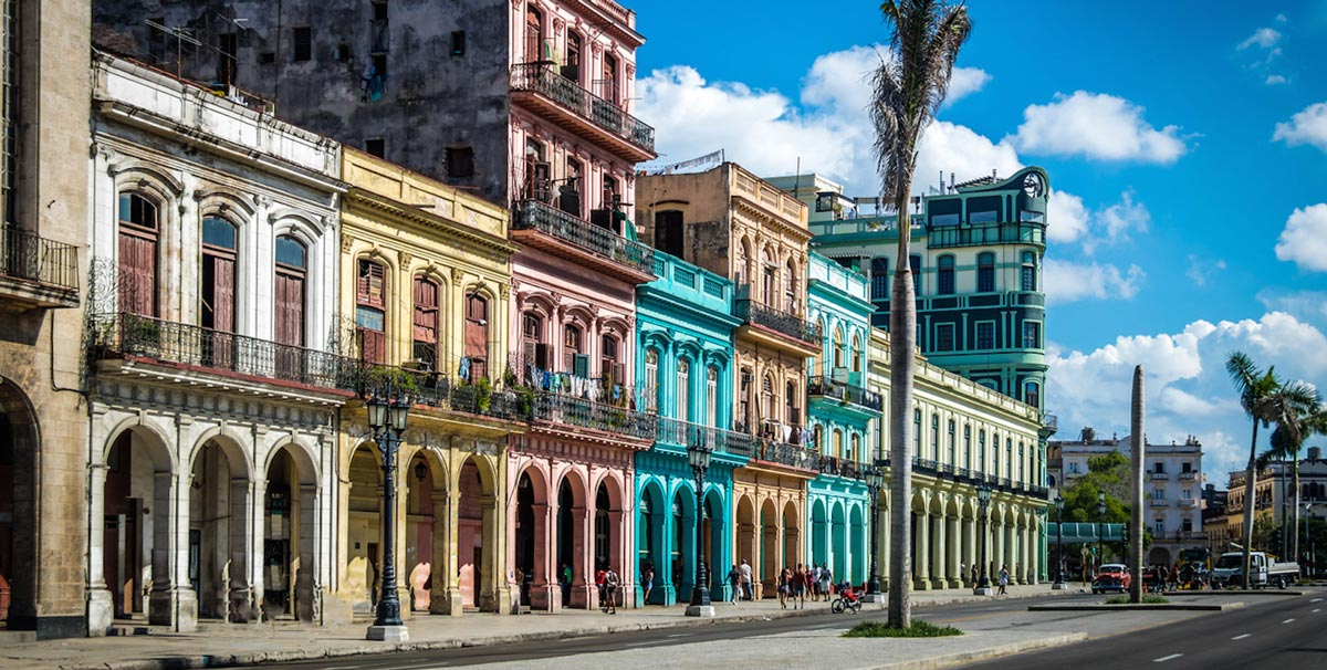 Busy Streets of Cuba