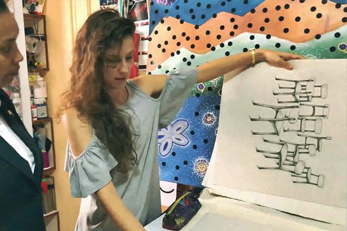 Leading Women Entrepreneurs Cuban Artist